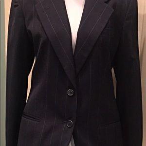 Ralph Lauren 2 piece navy pinstriped suit